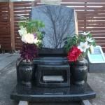 展示場に新しい墓石を展示しました【静岡県藤枝市】