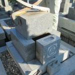 リフォームするお墓を解体し、基礎工事を行いました【静岡県藤枝市 慶全寺】