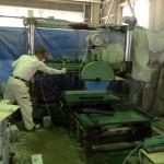 工場にて、妙法寺の永代供養塔の作業がはじまりました【静岡県焼津市】