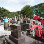 地震被害を受けたお墓の復旧工事のお手伝いをさせていただきました【熊本県熊本市】