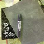 工場にて、椿の花の字彫りをしました。【静岡県焼津市 工場】
