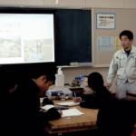 青島中学校の生き方講演会の感想が届きました。