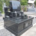 藤枝市大慶寺にて、新規建立のお墓の施工検査を完了しました【藤枝市大慶寺】