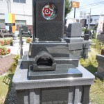 佐野石材 藤枝展示場に新しい墓石展示しました