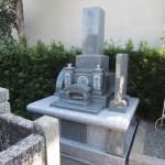 藤枝市の向善寺にて、新規建立のお墓の施工検査を完了しました【藤枝市天王町】