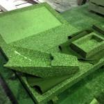 工場にて、沼上霊園のお客様のお墓をお作りしています。【静岡県焼津市 工場】