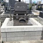 焼津市の善左衛門共同墓地に北欧蘭宝の洋型のお墓が完成しました。