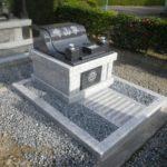 広い墓地でも費用を抑えてお墓を建てられます 藤枝霊園にて。グランブルー