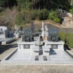 藤枝霊園にて、兄妹で隣り合わせの寿陵墓(生前墓)をおつくりしました。