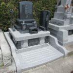 藤枝市栄昌寺でお墓を建て替えました。前字は古いお墓のものと同じです。