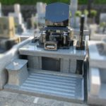 県外のお墓を静岡へ移転した事例です。遠方のお墓でも、佐野石材で責任を持って対応できます。(東京小平霊園から藤枝霊園へのお墓の移転)