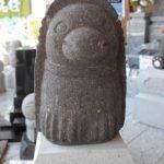 石像のアマビエ様がやってきました。藤枝市岡出山の佐野石材展示場にて展示販売中。